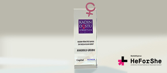 Anadolu Grubu'nda Kadın Olmak